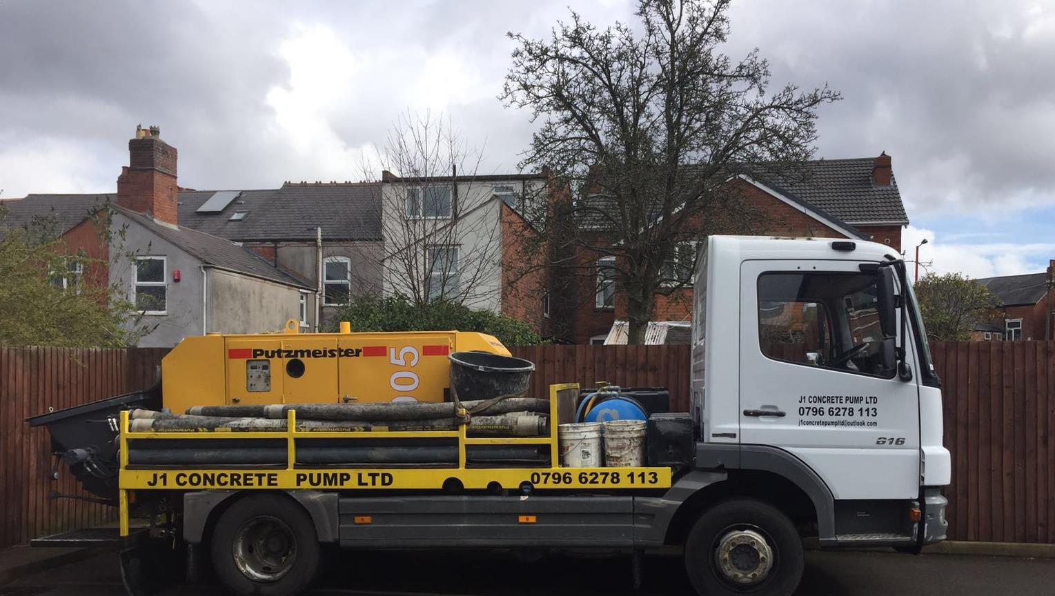 J1 Concrete Pump Ltd based in Birmingham
